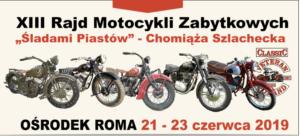 """XIII Rajd Motocykli Zabytkowych """"Śladami Piastów"""""""